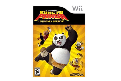 Kung Fu Panda: Legendary Warrior Wii Game - Newegg.com