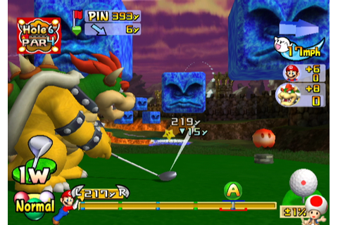 Mario Golf: Toadstool Tour Screenshots for GameCube ...