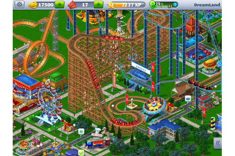 Free to play theme park sim Rollercoaster Tycoon 4 ...