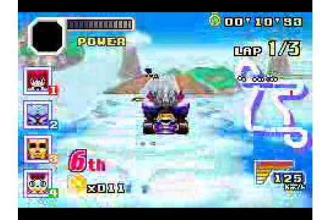 Konami Krazy Racers (Game Boy Advance) with commentary ...
