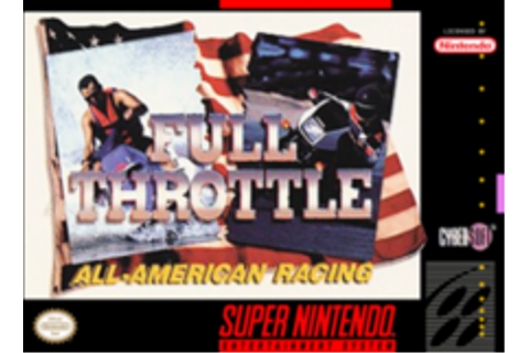 Full Throttle: All-American Racing - Wikipedia