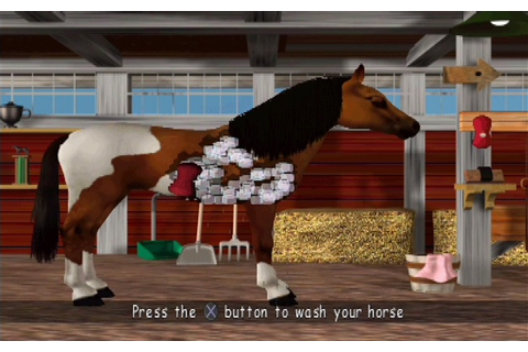 What They Call Games: Barbie: Race & Ride - This horse is ...