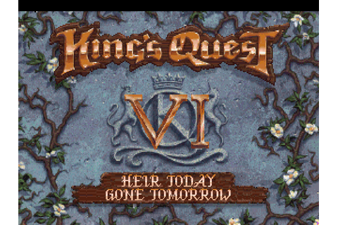 Download King's Quest VI: Heir Today, Gone Tomorrow | DOS ...
