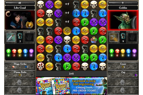Puzzle Quest 2 Mage Trainer on Facebook: Bejeweled meets ...