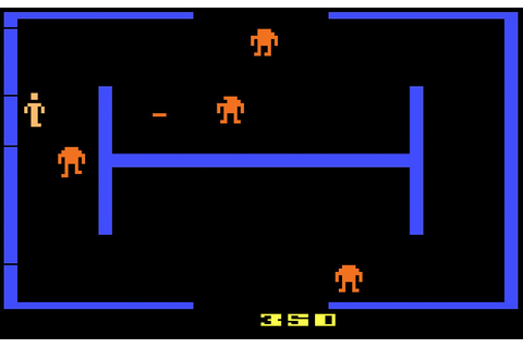 Game review: Atari Berzerk for #Atari 2600
