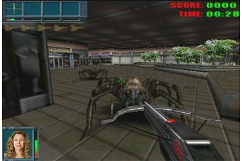 Caiman free games: Eight Legged Freak by 3D Groove.