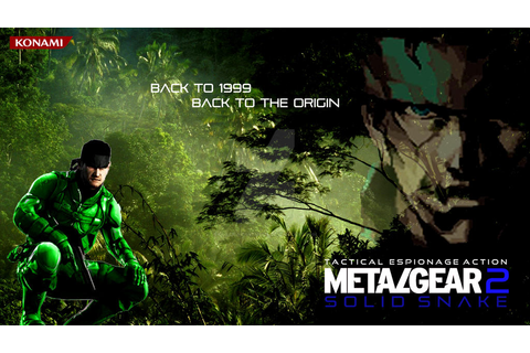 Metal Gear 2 Solid Snake (From 1990 To 2013) by Outer ...