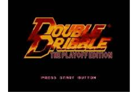 Double Dribble: The Playoff Edition | SSega Play Retro ...