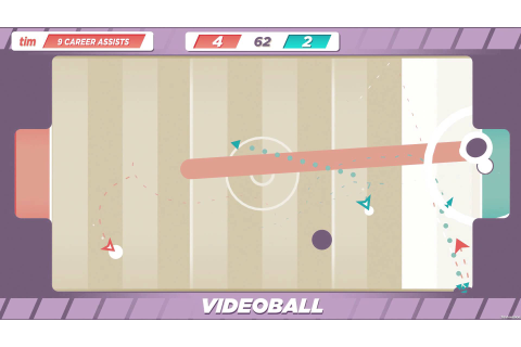 One-button sports game Videoball is releasing July 12