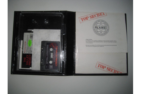 RetroGamesShop - The Halley Project (Mindscape) Atari 8 ...
