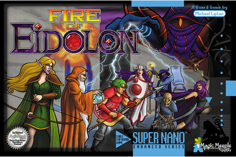 Fire of Eidolon Review | Co-op Board Games