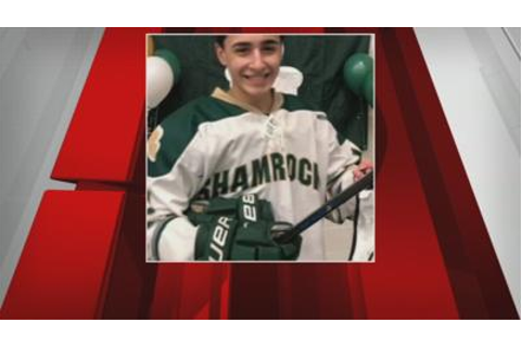 Injured HS hockey player speaks out for first time since ...