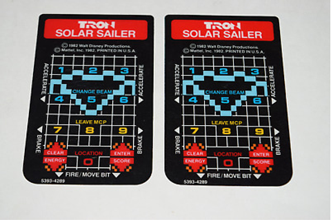 Tron Solar Sailer Intellivision Video Game Controller ...