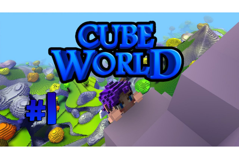 Cube World Game Play - Episode 1 - Archer Class! DAMN THE ...