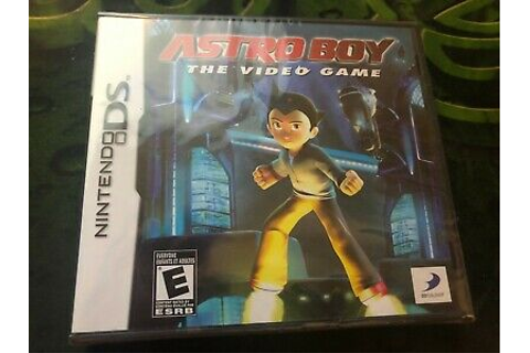 Astro Boy: The Video Game (Nintendo DS, 2009) 879278320161 ...
