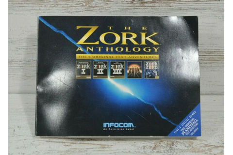 The Zork Anthology 5 Original Text Adventures Book 1994 ...