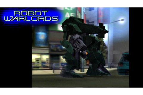 Robot Warlords ... (PS2) - YouTube