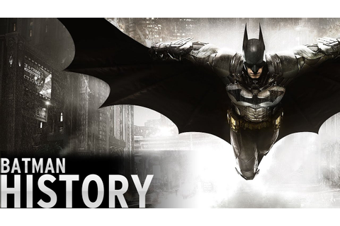 History of - Batman Video Games (1986-2016) - YouTube