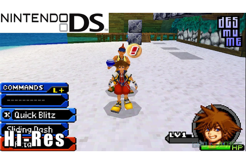 Kingdom Hearts Re:coded - Nintendo DS Gameplay High ...