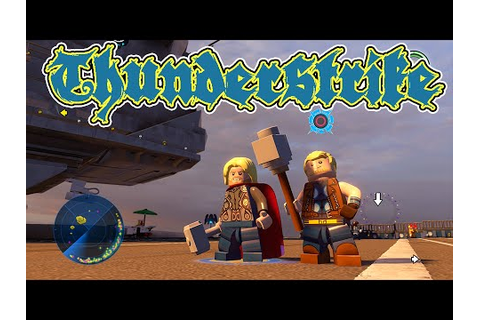LEGO Marvel's Avengers - Thunderstrike Gameplay and Unlock ...