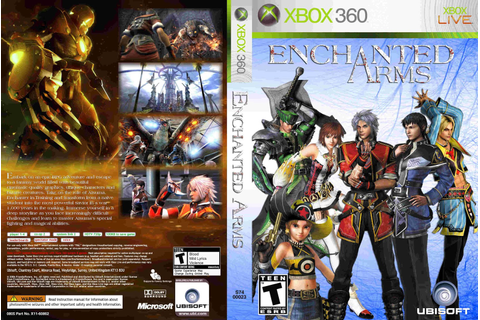 Covers Movie Gtba: Enchanted Arms - Capa Game XBox 360