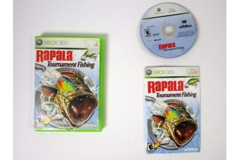 Rapala Tournament Fishing game for Xbox 360 (Complete ...