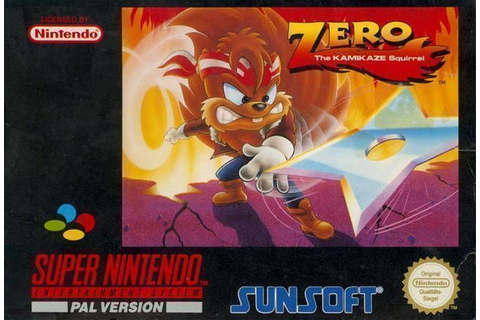 Zero The Kamikaze Squirrel ROM - Super Nintendo (SNES ...