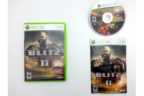Blitz The League II game for Xbox 360 (Complete) | The ...