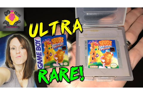 ULTRA RARE GAME BOY GAME FOUND | Spud's Adventure RARE ...