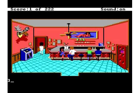 Leisure Suit Larry In The Land Of The Lounge Lizards (1987 ...
