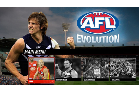 AFL Evolution - Main Menu & Modes Gameplay Notion - YouTube