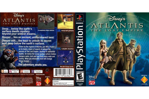 0 to Z of Playstation 1 Games - Atlantis The Lost Empire