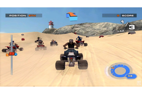 ATV Quad Power Racing 2 GameCube Gameplay HD - YouTube
