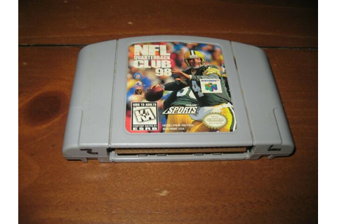 NFL Quarterback Club 98 (Nintendo 64, 1997) Video Game | eBay