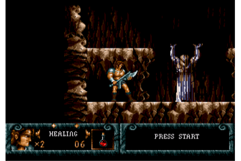 Blades of Vengeance Screenshots for Genesis - MobyGames
