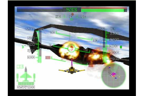 Aero Fighter Assault Spanky Air doking Air battle - YouTube
