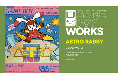 Astro Rabby retrospective: Lapin it up | Game Boy Works ...