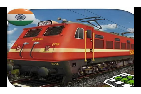 INDIAN TRAIN SIMULATOR FREE GAMES #001 - Train Simulator ...