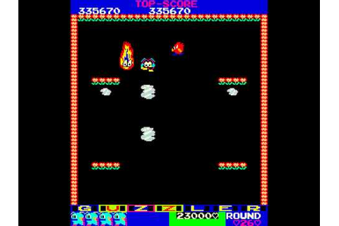 Arcade Game: Guzzler (1983 Tehkan) - YouTube