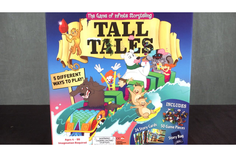 Tall Tales The Game of Infinite Storytelling from SCS ...