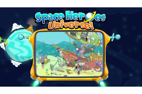 Space Heroes Universe - Free Virtual World - YouTube