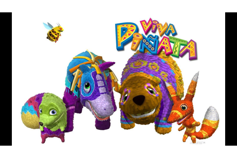 Viva Piñata Party Animals - Xbox 360 Multiplayer Gameplay ...