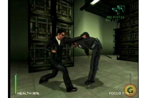 Enter the Matrix ps2 gameplay - YouTube