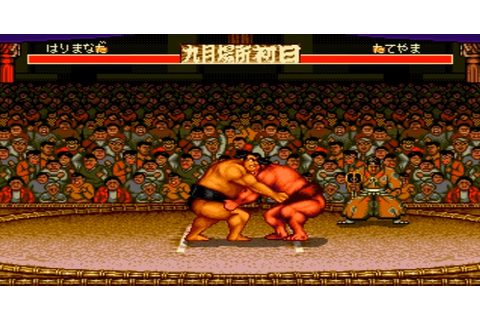 Sumo in the history of videogames - Spritted.com