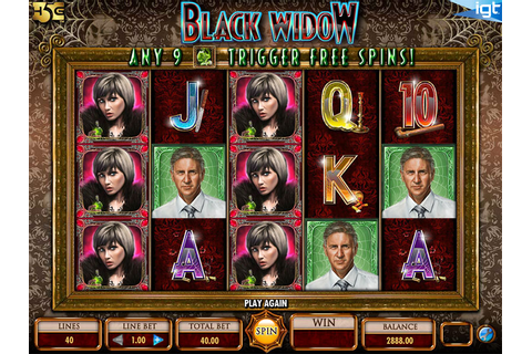Black Widow Slot Machine Game - Free Play | DBestCasino.com