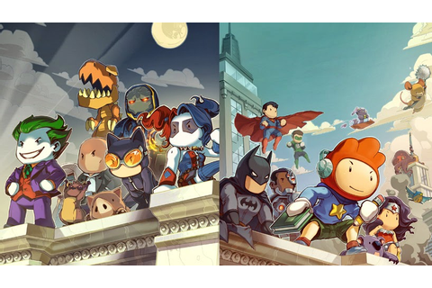 Dream Games: Scribblenauts Unmasked A DC Comics Adventure