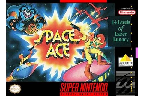 Mundo Retrogaming: Space Ace (Super Nintendo)