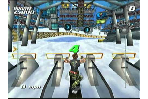 Ssx Tricky Gameplay ps2 - YouTube