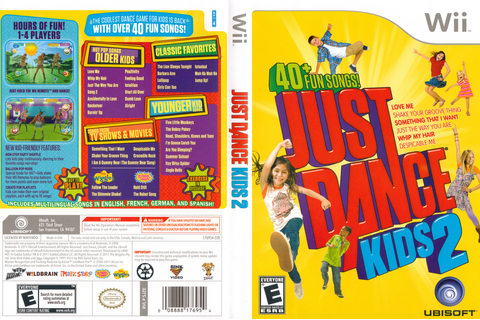 SJZE41 - Just Dance Kids 2