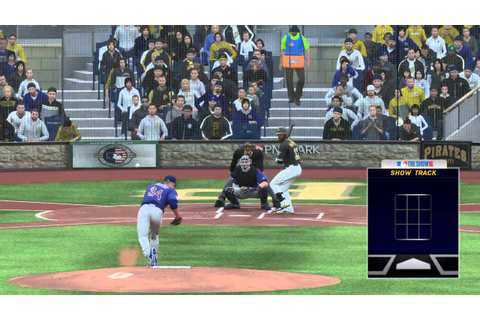 MLB The Show 16: Cubs @ Pirates (Full Game) - YouTube